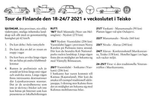 Tour de Finlande